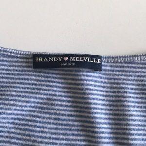 Brandy striped top